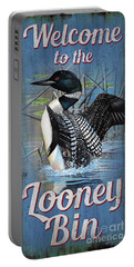 Lonney Bin Sign Portable Battery Charger