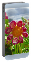 Look At Me Dahlia Portable Battery Charger