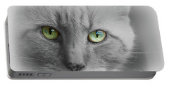 Look Into My Eyes  Portable Battery Charger