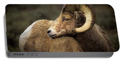 Looking Back - Bighorn Sheep Portable Battery Charger