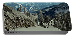 Looking Down The Great Western Slope Portable Battery Charger