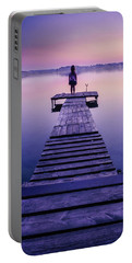 Portable Battery Charger featuring the photograph Looking For The Sirens by Dmytro Korol
