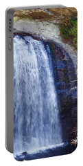 Portable Battery Charger featuring the photograph Looking Glass Falls 2016 by Cathy Harper