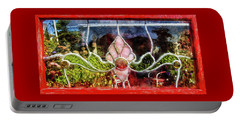 Portable Battery Charger featuring the photograph Looking Into The Garden by Thom Zehrfeld