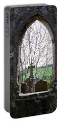 Looking Out Fuerty Church Roscommon Ireland Portable Battery Charger