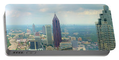 Portable Battery Charger featuring the photograph Looking Out Over Atlanta by Mike McGlothlen