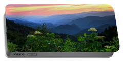 Looking Out Over Woolyback On The Blue Ridge Parkway  Portable Battery Charger