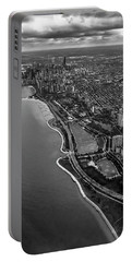 Looking South Toward Chicago From The Friendly Skies Portable Battery Charger