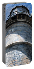 Looking Up Portland Head Light Portable Battery Charger