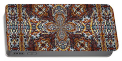 Looks Like A Persian Rug Portable Battery Charger