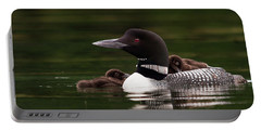 Loon Chicks Portable Battery Charger