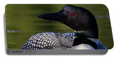 Loon Close Up Portable Battery Charger