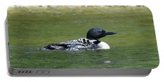 Loon In The Afternoon Sun Portable Battery Charger