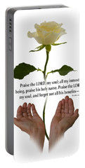 Lord, O My Soul Portable Battery Charger