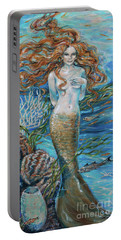 Lorelei Mermaid Portable Battery Charger