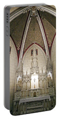 Portable Battery Charger featuring the photograph Loretto Chapel Santa Fe by Kurt Van Wagner