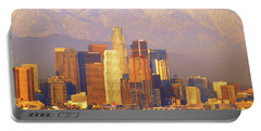 Los Angeles And The San Gabriel Mountains Portable Battery Charger