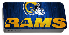 Los Angeles Rams Barn Door Portable Battery Charger