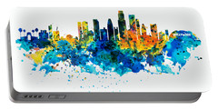 Los Angeles Skyline Portable Battery Charger