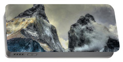 Los Cuernos-the Horns Portable Battery Charger