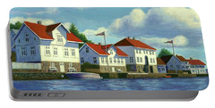 Loshavn Village Norway Portable Battery Charger