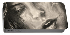 Portable Battery Charger featuring the photograph Losing Sleep ... by Juergen Weiss