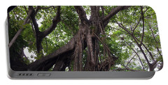Lost In The Branches Portable Battery Charger