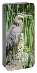 Lost Lagoon Heron Portable Battery Charger