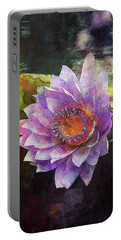 Lost Lavender Lotus Blossom 4725 Ldp_2 Portable Battery Charger