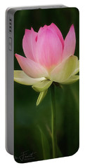 Lotus Blossom Portable Battery Charger