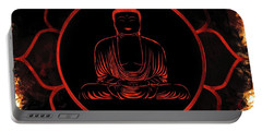 Lotus Buddha Portable Battery Charger