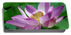 Lotus--center Of Being--protective Covering II Dl0088 Portable Battery Charger by Gerry Gantt