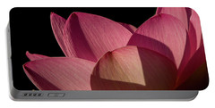 Portable Battery Charger featuring the photograph Lotus Flower 5 by Buddy Scott