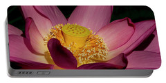 Portable Battery Charger featuring the photograph Lotus Flower 6 by Buddy Scott