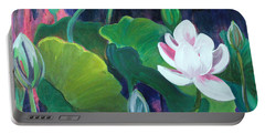 Lotus Garden 1 Portable Battery Charger