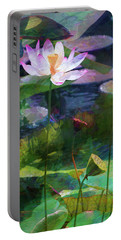 Lotus Portable Battery Charger by John Rivera