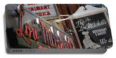 Lou Mitchells Restaurant And Bakery Chicago Portable Battery Charger
