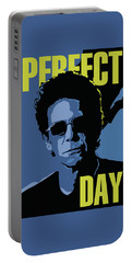 Lou Reed Portable Battery Charger