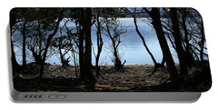 Lough Leane Through The Woods Portable Battery Charger by Aidan Moran