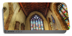 Loughborough Church - Altar Vertorama Portable Battery Charger