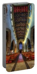 Loughborough Church - Nave Vertorama Portable Battery Charger