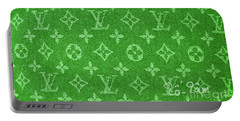 Louis Vuitton Fabric Green Monogram Portable Battery Charger