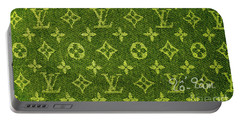 Louis Vuitton In Yellow Grey Monogram Portable Battery Charger