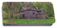 Louisa May Alcotts Orchard House Concord Massachusetts Portable Battery Charger