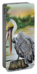Louisiana Sunrise Portable Battery Charger by Phyllis Beiser