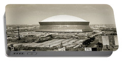 Louisiana Superdome Portable Battery Charger