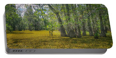 Louisiana Swamp In Gold Portable Battery Charger