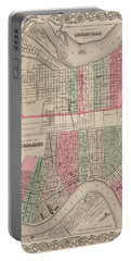 Louisville, Kentucky. New Orleans, Louisiana Portable Battery Charger