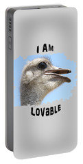 Lovable Portable Battery Charger by Judi Saunders