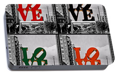 Portable Battery Charger featuring the photograph Love 4 All by DJ Florek